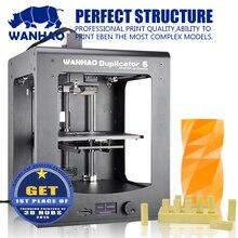 WANHAO 2016 новый разработанный промышленного уровня 3d принтер с высокой точностью и печати размер 200*200*180 мм