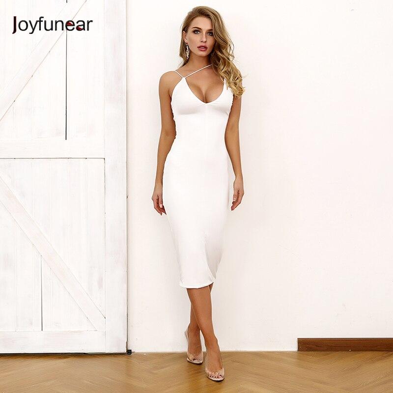 Women's Clothing 2019 New Summer Women Spaghetti Strap Dress V-neck Sexy Sleeveless Cross Lace-up Backless Dresses