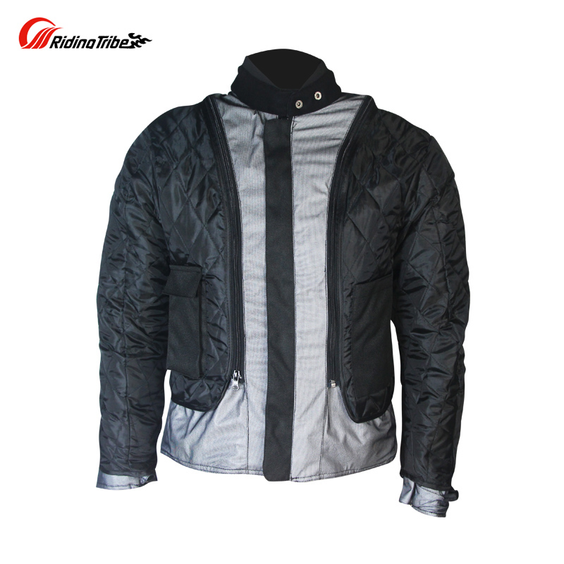 Riding Tribe 4 Seasons Motorcycle Racing Jacket Clothes Waterproof  Windproof Motorbike Motocross Motos Chaqueta Clothing-in Jackets from  Automobiles ... 57863ab52ee1d