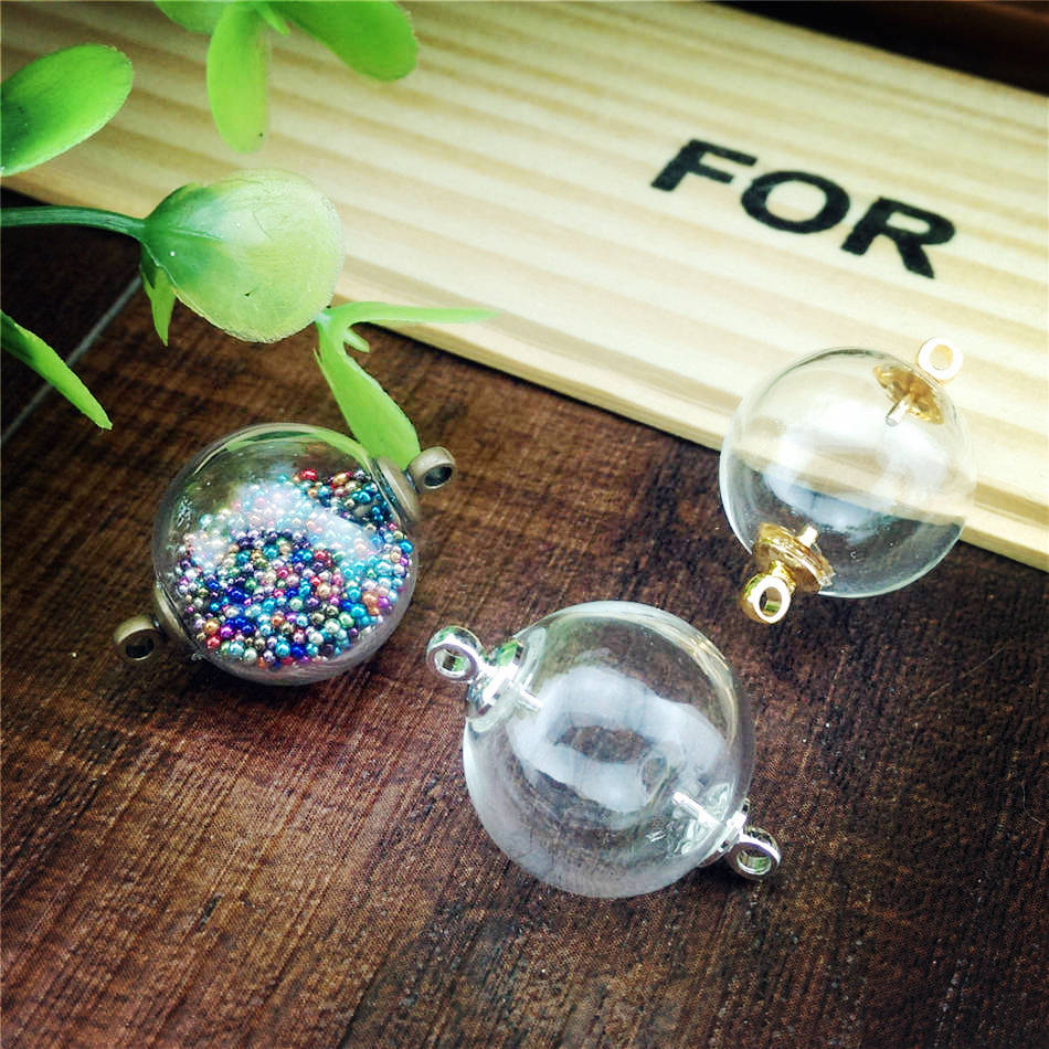 Glass Globe Pendant Jewelry Supply 20sets Lot 16mm Double Math Wallpaper Golden Find Free HD for Desktop [pastnedes.tk]