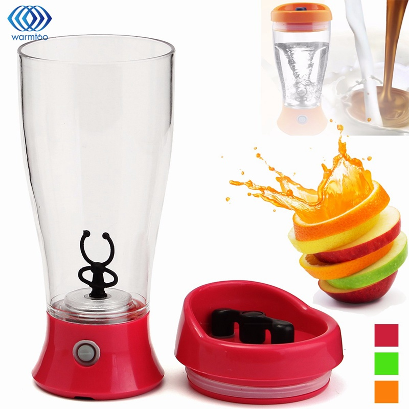 350ML Electric Protein Shaker Auto Stirring Mug Blender Lazy Self Stir Tornado Nutrition Mixer Bottle Cup Fitness Portable portable blender mini mixer automatic self stirring mug