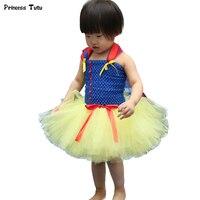 Kinder Cosplay Schneewittchen Kleid 1-14Y Baby Mädchen Party Tüll Prinzessin Kleid Phantasie Weihnachten Halloween Kostüm für Kinder Kleidung