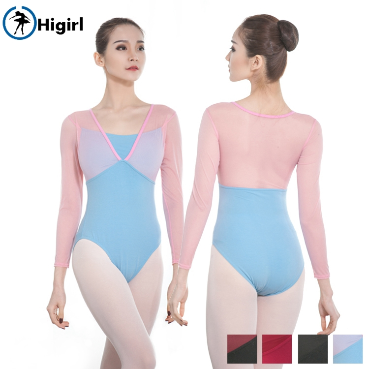 New Adult Womens Sequined Ballet Leotard Dance Gym Skate Unitards Dress Bodysuit