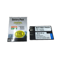 D-LI109 lithium battery  D LI109 Digital camera battery For PENTAX K-R K-2 KR K2 KR K-r