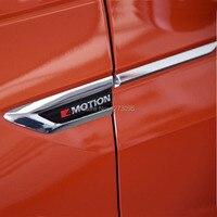 For 2016 2017 2018 Volkswagen VW Tiguan Mk2 4Motion 4X4 Side Wing Fender Emblem Badge Stickers