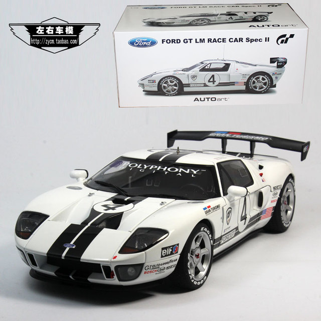 Brand New Yj   Scale Car Model Toys Usa Ford Gt Lm Spec Ii