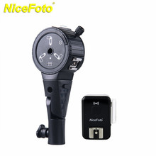 NICEFOTO Wireless Flash Trigger For Canon For Nikon Cameras Shutter Release Remote Control PR-A03(China)
