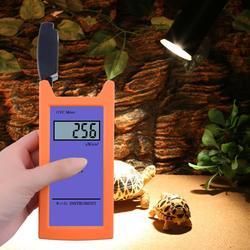 Reptil Yieryi RGM-UVC con medidor de radiación UV 1uw/cm2, medidor de iluminancia UV de alta precisión, herramienta de medición de luminosidad UVC