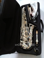 High Quality Alto Saxophone Silver Plated SELMER 54 Sax Perfect Quality Complete Fittings Free Shipment Musical