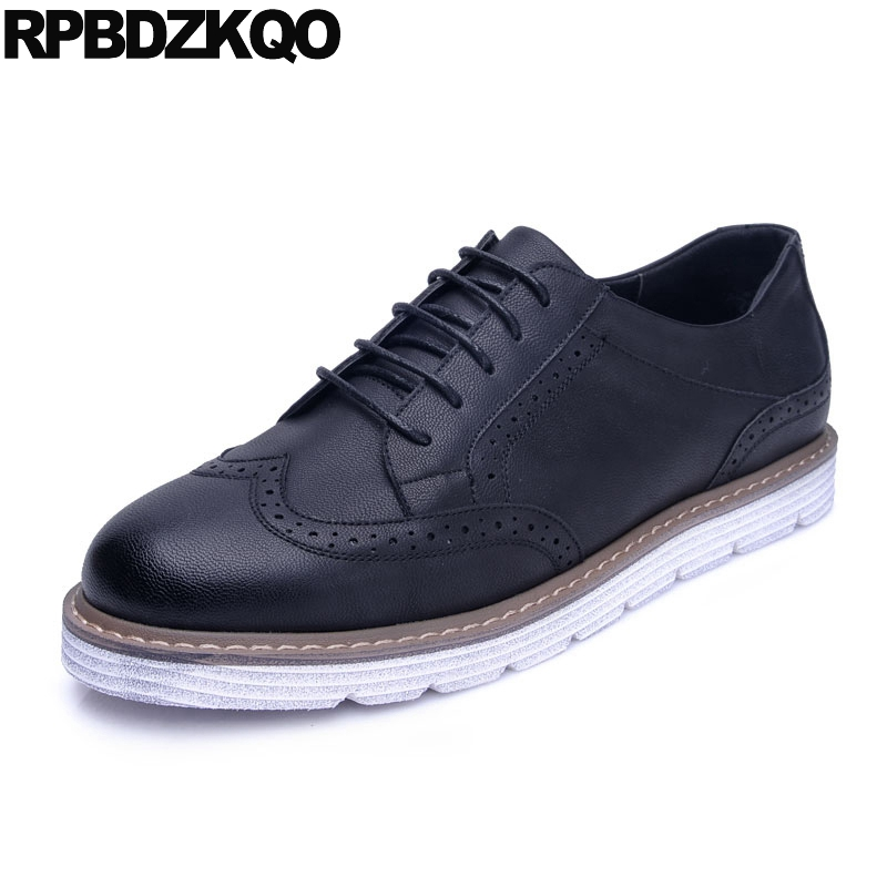 Breathable Business Casual Men Shoes Black Lace Up Male British Style Oxfords Brogue Wingtip Spring Hot Sale Autumn Stylish vmuksan hot sale suede leather shoes men high quality lace up men casual shoes new style comfortable men s spring shoes