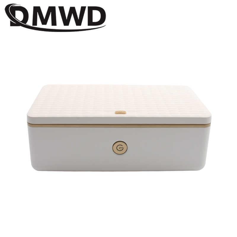 DMWD sterylizator uv szafka do dezynfekcji Nail Art Makeup Brush Manicure czyszczenie ultrafioletowe pojemnik sterylizacyjny Generator ozonu ue