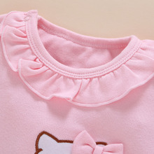 4pcs/Set New Born Baby Girl Rompers Clothes