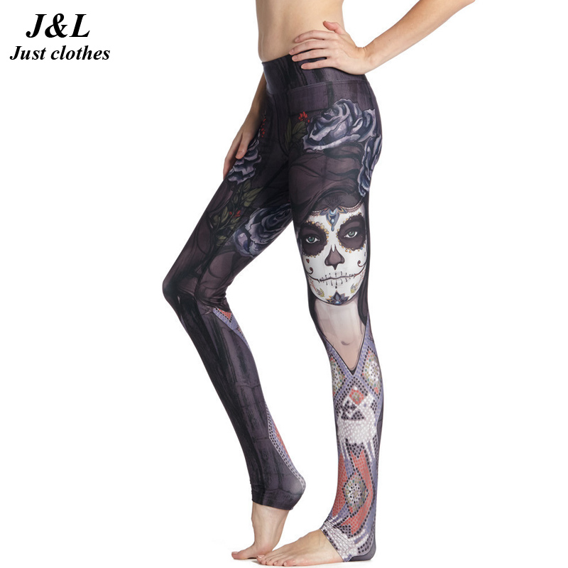 Funny Girl Printing Compression Pants Women Sporting Leggings Fitness New 3D Legging 15 Styles Elastic Workout
