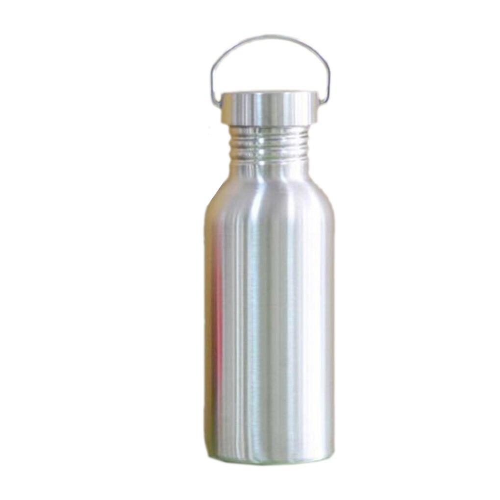 500ml/750ml Water Bottle Full Stainless Steel Insulated Vacuum Leak-proof Jar Sports Flask