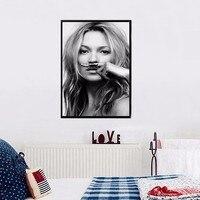 CALDA della Tela di Canapa Pittura Cuadros Decoracion Kate Moss, la vita è uno scherzo Per Lijst IN Poster per Soggiorno Parete Home Decor no frame