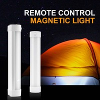 50W IR Remote Camping Light Portable Lantern USB Rechargeable Hunting Tent Light Cabinet Dimmable Carp Fishing Lamp With magnet
