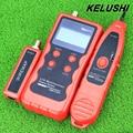 NF-838 KELUSHI Longitud de Red LAN Cable Tester Rastreador Teléfono LAN BNC Cable USB RJ11 RJ45 Cable Trazador Buscador/Buscador