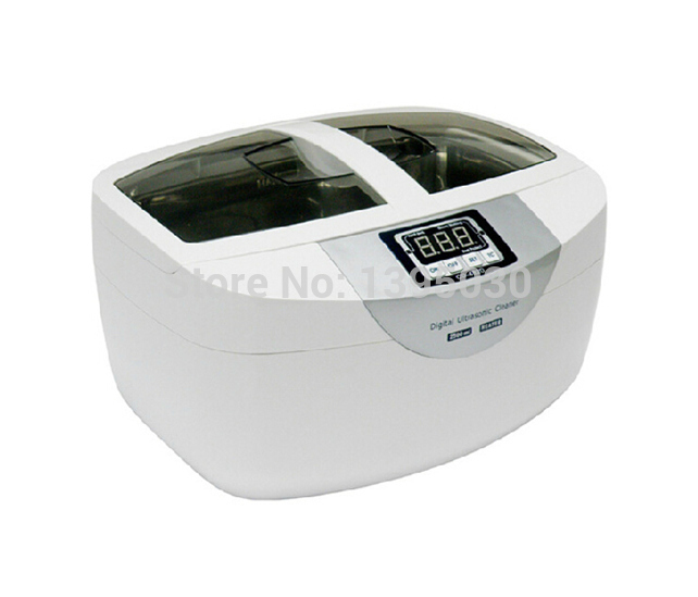 ФОТО 1PC 2.5L CD-4820 Stainless Steel Digital 42khz Frequency Water Heating Function Jewelry Ultrasonic Cleaner