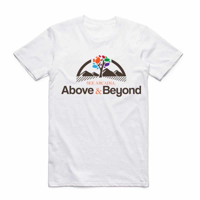 b24b26cc86e Fashion Men Print Above   Beyond Design T-shirt O-Neck Short Sleeves Summer