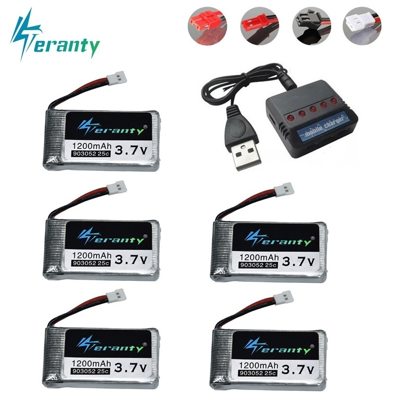 1200mAh 3.7V Lipo Battery for Syma X5 X5C X5S X5SC X5SW M18 M68 H5P T64 T05 HQ898B H11C H11D RC Quadcopter Drone Spare Part 20191200mAh 3.7V Lipo Battery for Syma X5 X5C X5S X5SC X5SW M18 M68 H5P T64 T05 HQ898B H11C H11D RC Quadcopter Drone Spare Part 2019