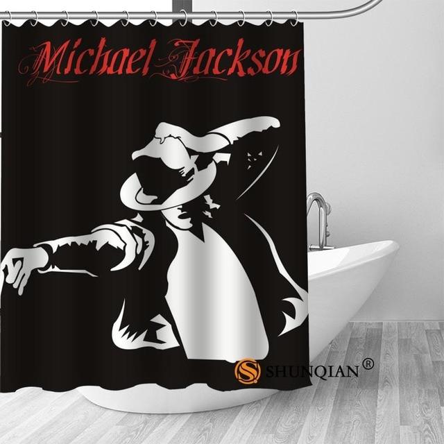 15 Shower Curtain Michael jackson shower curtain spun waterproof 5c64f7a44ed47