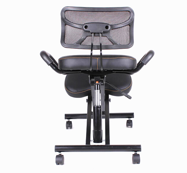 ergonomically designed knee chair with back and handle office