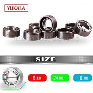 YUKALA 8*24*8mm bearings ball