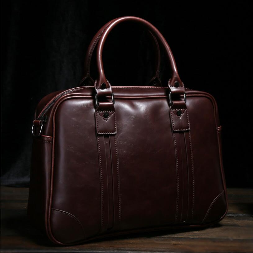 Briefcase Office Bags Current Men's Handbag Crossbody Shoulder Bag Briefcase Computer Bag Men's Bag Trend Korean