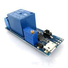 IC Time delay relay module 5 v timer switch conduction smart car DIY electronics accessories model Time delay relay module