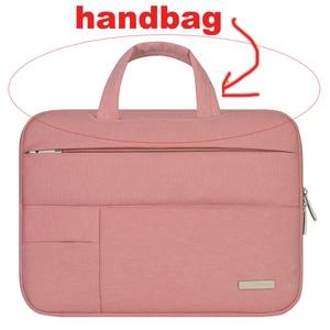 Image 5 - Men Women Portable Notebook Handbag Air Pro 11 12 13 14 15.6 Laptop Bag/Sleeve Case For Dell HP Macbook Xiaomi Surface pro 3 4