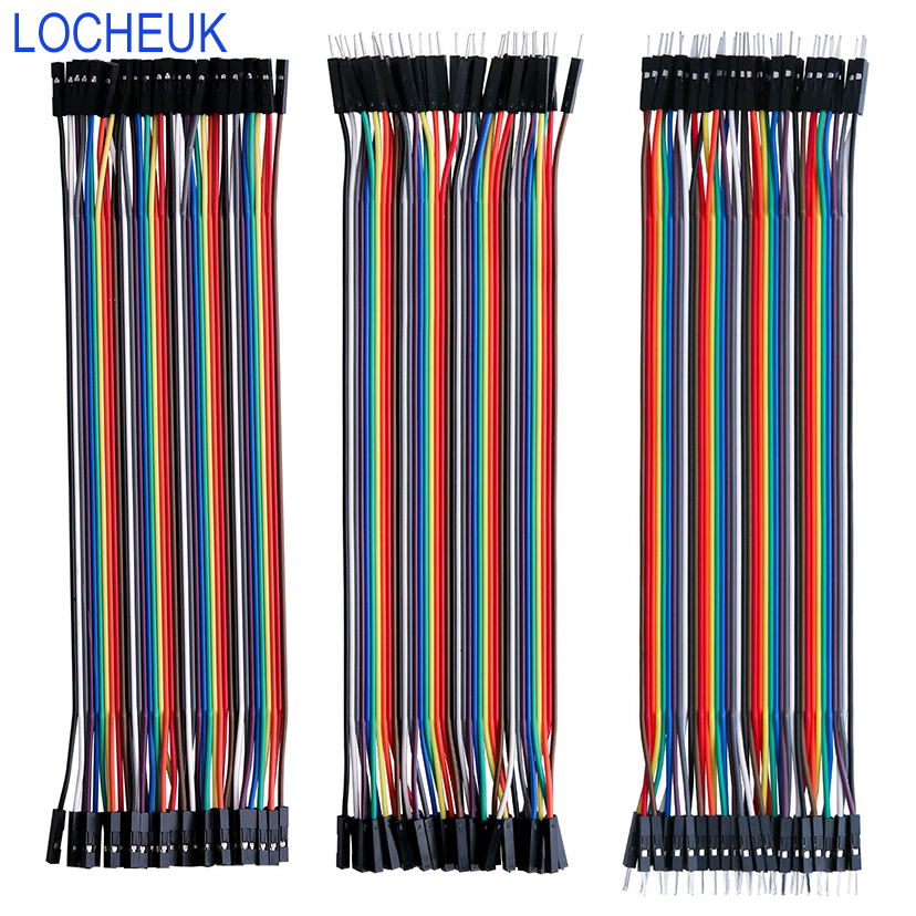 40 Pin Jumper  Line Wire 10cm/15cm/40cm Male To Male Female To Male Female To Female Breadboard Cable For DIY KIT