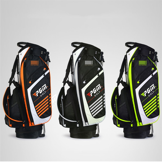 Pgm Golf Standard Ball Package Large Capacity Nylon Golf Bag For Men And Women Golf Bag With Stand Holder Gun Cover Bag D0069
