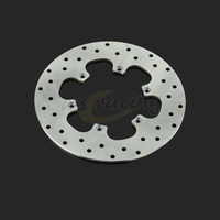 Outer Diameter 240MM Stainless Steel Rear Brake Disc Rotor For BMW F650 1993 2009 F650CS F650GS F650ST F 650 GS Daker