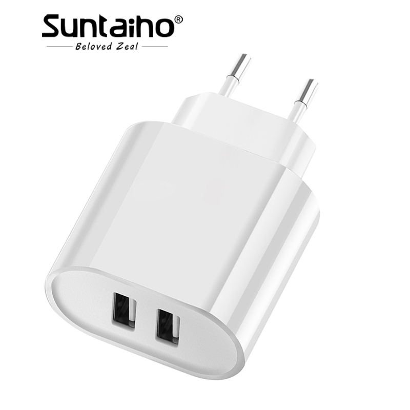 Suntaiho Travel Wall Charger EU Plug Smart Mobiles