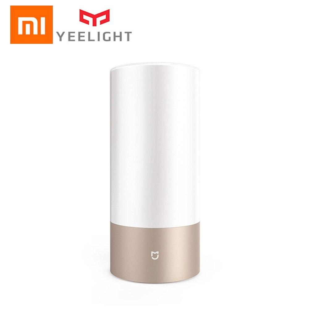 Xiaomi Mijia Yeelight MJCTD01YL lumière LED lampe de chevet Table bureau lumière intelligente contrôle tactile connexion Bluetooth pour MiHome APP