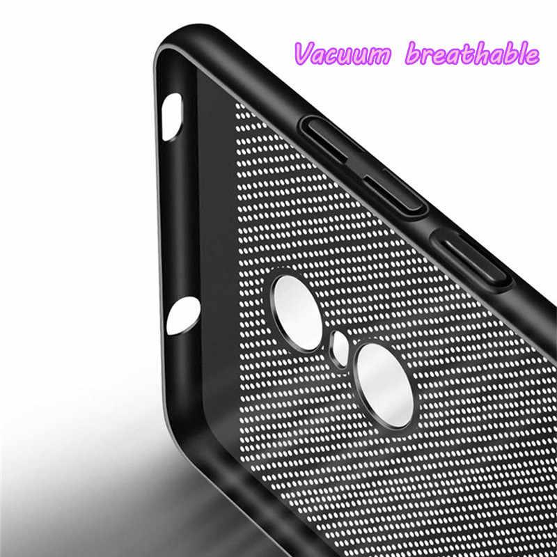 Сетчатые жесткие чехлы для телефона для Xiaomi Redmi 5 Plus Note 6 7 Pro 3 4X3 S 4A 5A 6A S2 Note7 ультра тонкая задняя крышка