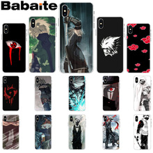 ad781243ddd Babaite naruto kakashi Custom Photo Soft Phone Case for Apple iPhone 8 7 6  6S Plus
