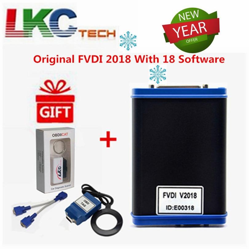 FVDI 2018 ABRITES Автомобили диагностический инструмент сканер охватывает все функции FVDI 2014 2015 и большинство функций V-V-DI2 для V-W