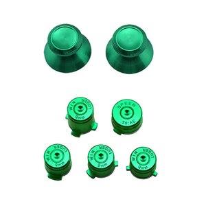 Image 5 - Aluminium Metal Mod Kit Thumbstick Joystick Analog Cap Bullet ABXY Guide Button for Xbox 360 Controller Gamepad Replacement