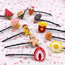 Fruit hair hairpin simulation hair show MOE artifact A word free home delivery