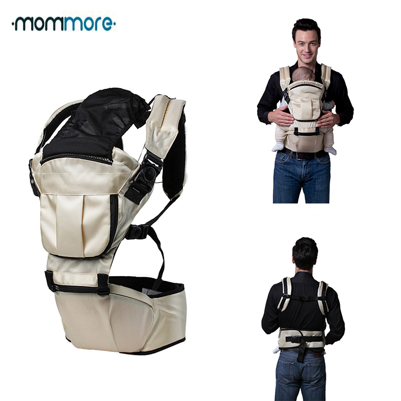mommore Baby Carrier Seat Baby Sling Backpack Wrap Sling for Baby Travel Infant Baby Hipseat Carrier Front Facing цена 2017