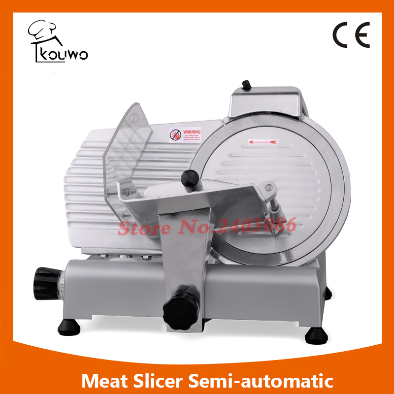 high efficiency industrial semi automatic electric kitchen equipment frozen meat slicer food cutting machine with 250mm blade itop 10 blade premium meat slicer electric deli cutter home kitchen heavy duty commercial semi automatic meat cutting machine