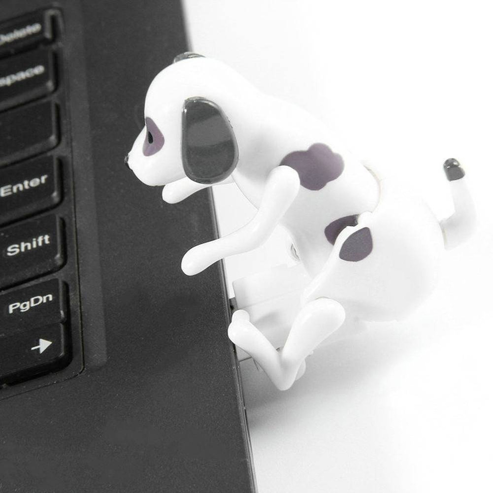 New Funny Cute Pet USB Humping Spot Dog USB Dongle Christmas Gifts Office Tool NSV775