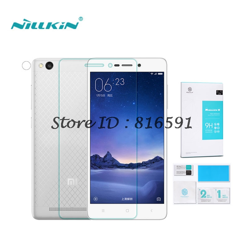 Xiaomi Redmi 3 Tempered Glass 5 0 inch Nillkin Amazing H Anti Explosion Screen Protector For