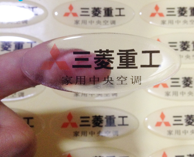 Full Color Printing Custom Transparent Clear Label Sticker Packing Labels With Logo