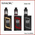 Original smok tfv8 alienígena starter kit com 3 ml tanque do bebê & 220 W 0.15ohm ALIENÍGENA 220 MOD & 0.4ohm V8 Bebê núcleo