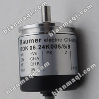 New BDK 06 24K5 5 9 Baumer Rotary Encoder Solid Shaft 5mm Outside Diameter Of 30mm