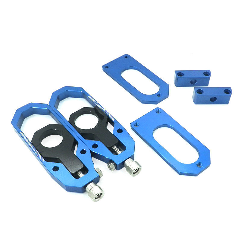 Motorcycle Aluminum Chain Adjusters with Spool Tensioner Catena For Yamaha YZF R6 YZF R6 2008 2009 2010 2011 2012 2013 2014 2015 in Covers Ornamental Mouldings from Automobiles Motorcycles