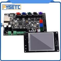 3D Printer Parts MKS TFT32 V3.0 3.2'' Controller Display + MKS SBASE V1.3 Smoothieboard 32 bit Controller board open source