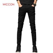 Новинка весны, мужские джинсы, черные классические модные дизайнерские джинсы, обтягивающие джинсы для мужчин, повседневные, высокое качество, облегающие прямые брюки